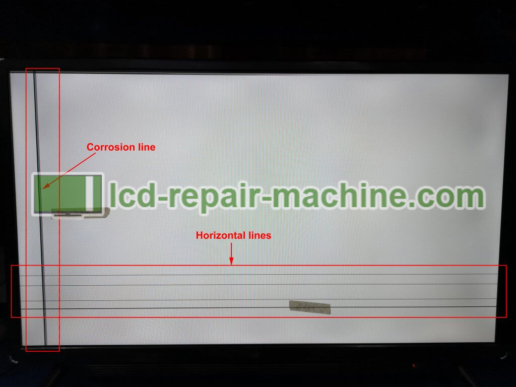 LCD LED TV Faults which can be repaired by bonding machine | LCD TV
